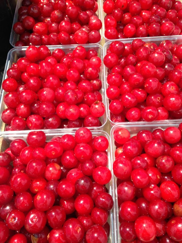 Door County cherry jam