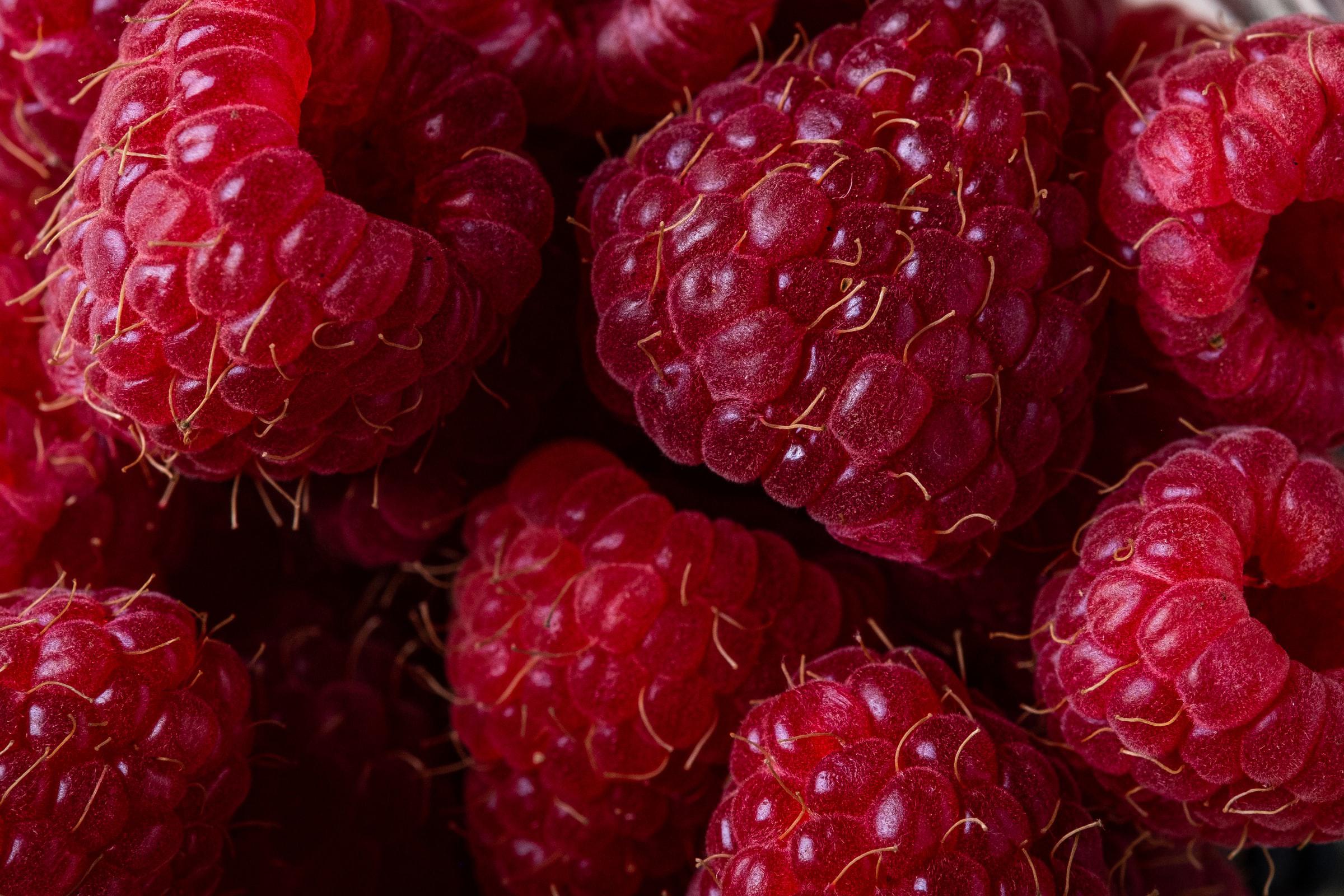 Door County raspberries